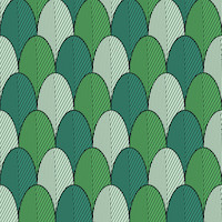 Scales green 33x33 cm napkins